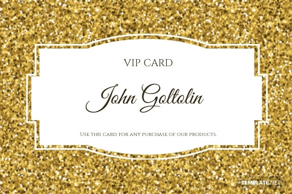 Free Golden Membership Card Design Template 1.jpe
