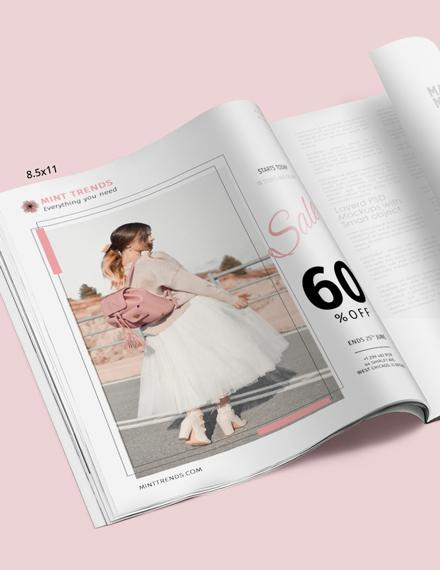 Product Sale Magazine Ads