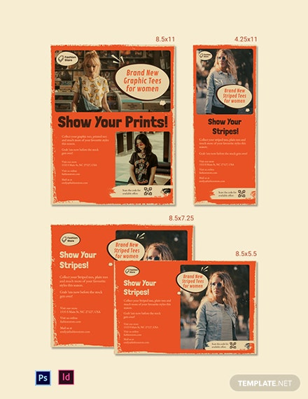 Vintage Magazine Ads Template