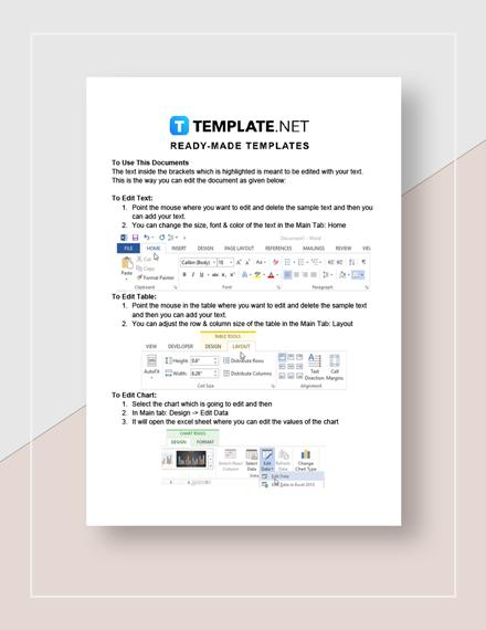 Printable Employee Incident Report Instructions