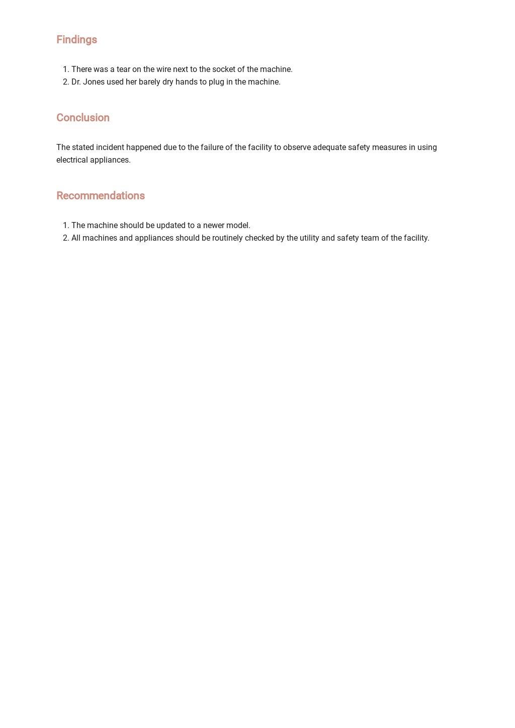 Printable Employee Incident Report Template 2.jpe