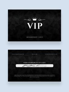 Free Member Card Template