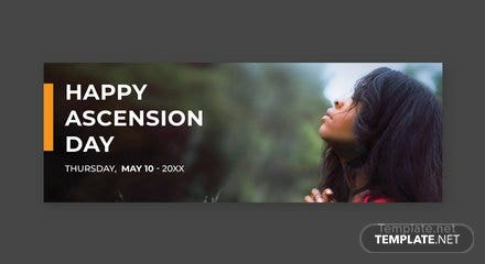 Free Ascension Day Tumblr Banner Template