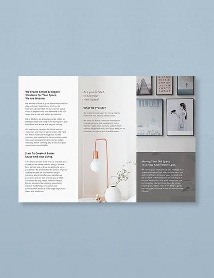free simple modern brochure template download 151 brochures in psd