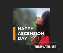 Free Ascension Day Tumblr Profile Photo Template