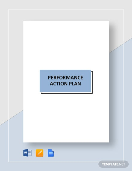 performance action plan