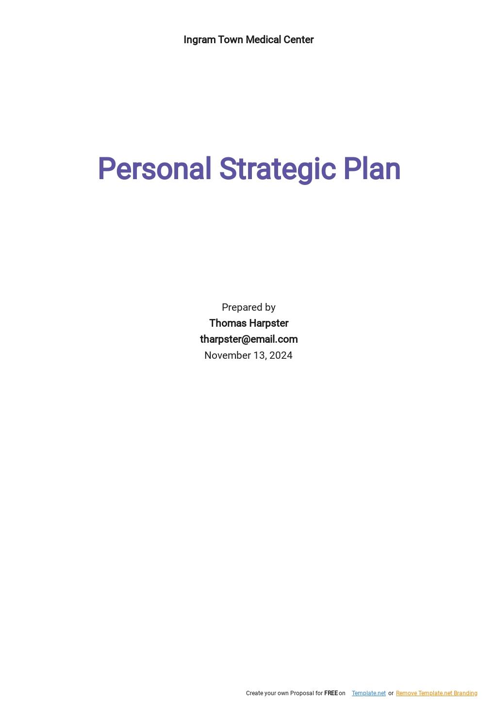 Personal Strategic Plan Template.jpe