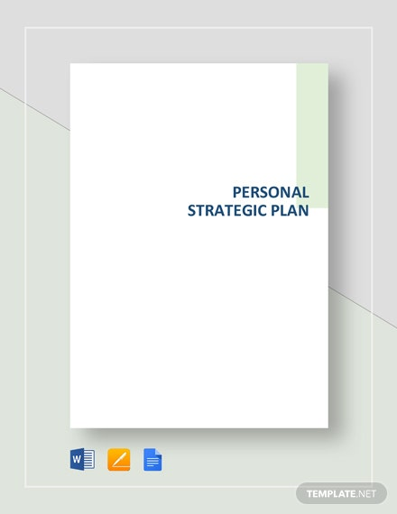 personal strategic plan