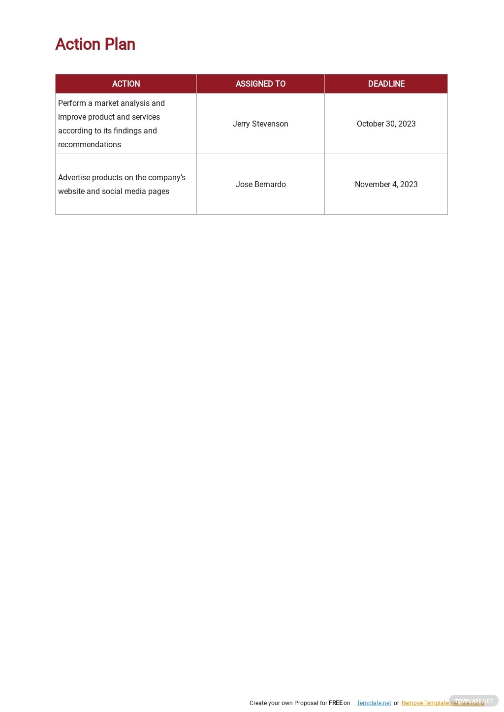 Printable Strategic Plan Template 4.jpe
