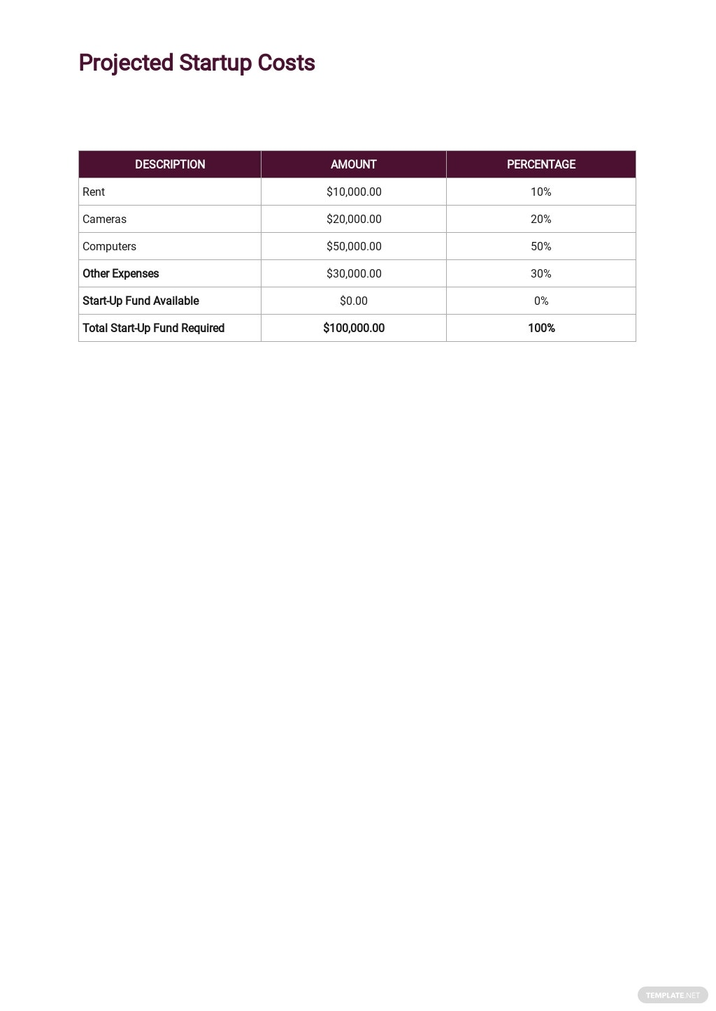 Production Company Business Plan Template 4.jpe