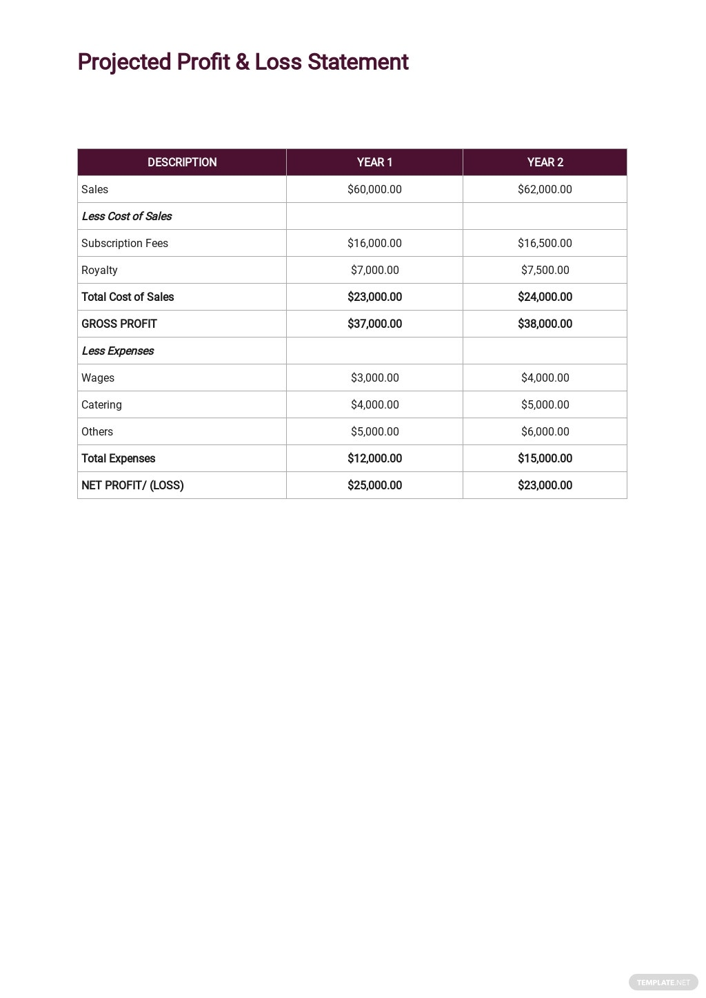Production Company Business Plan Template 5.jpe
