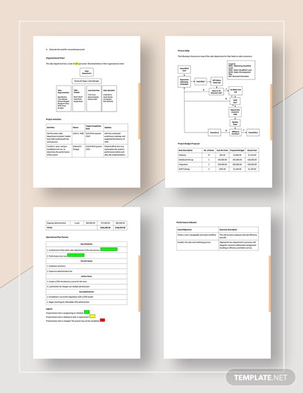Project Operational Plan Download
