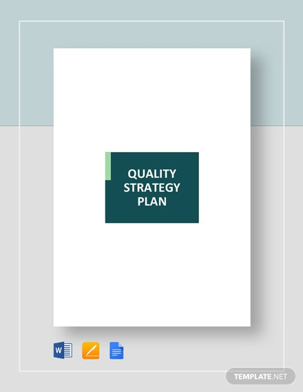 quality strategy plan