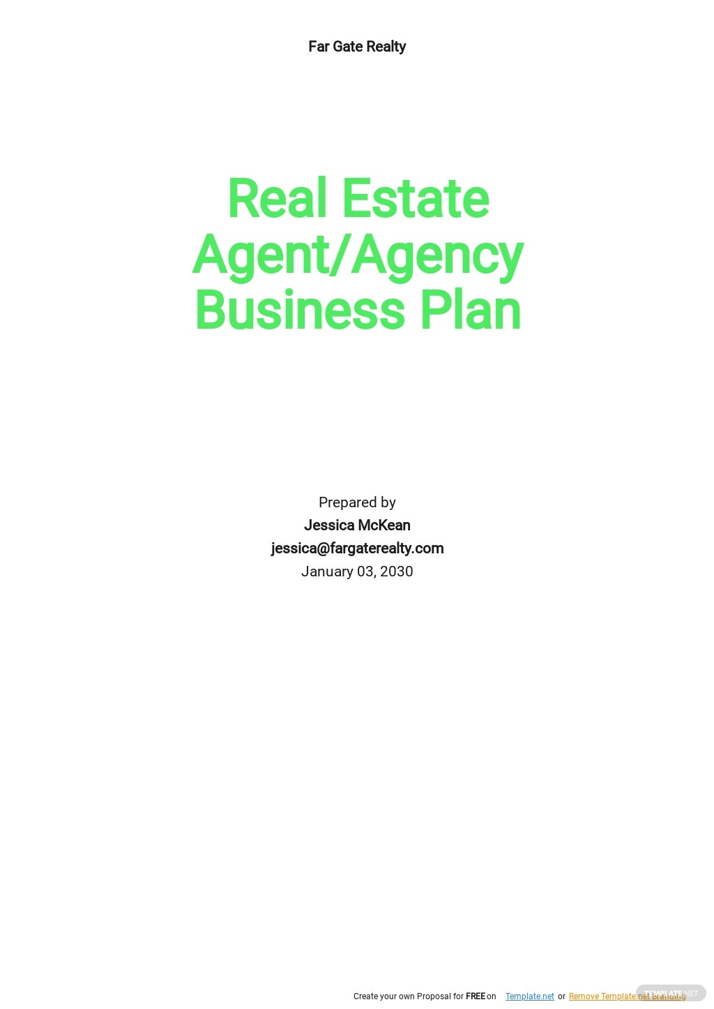 Real Estate Agent/Agency Business Plan Template.jpe