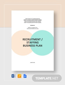 Recruitment/Staffing Agency Business Plan Template