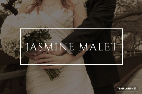 Wedding Place Name Card Template