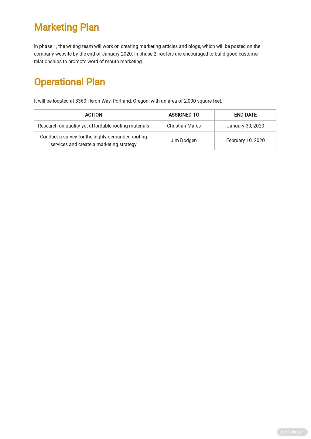 Roofing Company Business Plan Template 3.jpe