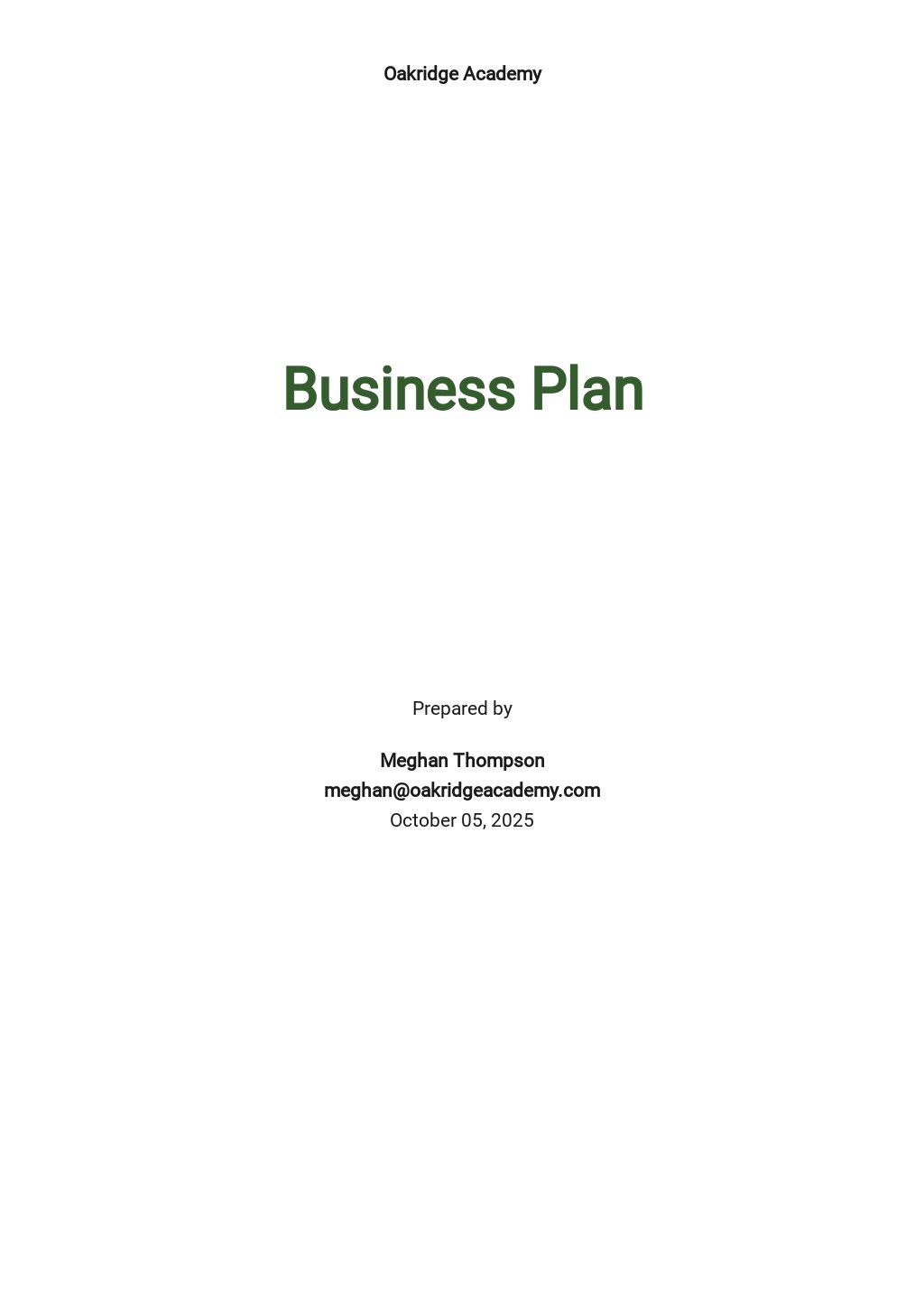 School Business Plan Template.jpe