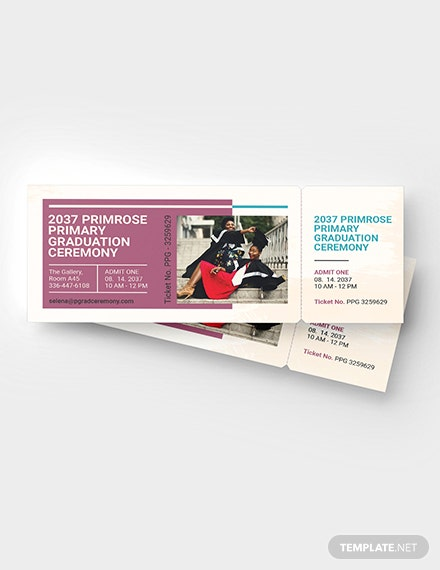 Graduation Admission Ticket Download