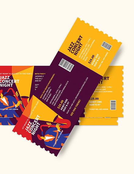 Jazz Concert Ticket Download