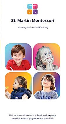 Free Kindergarten Brochure Template