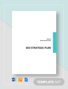 SEO Strategy Plan Template