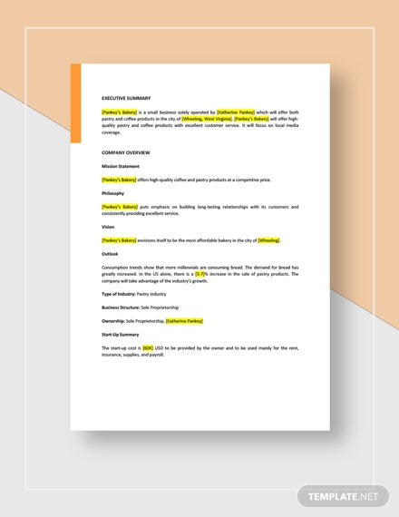 Small Business Plan Download
