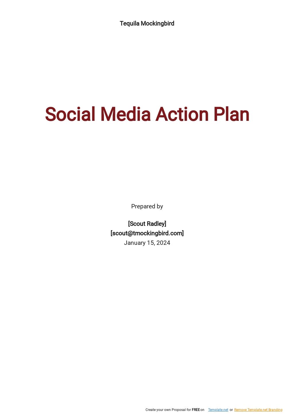 Social Media Action Plan Template.jpe