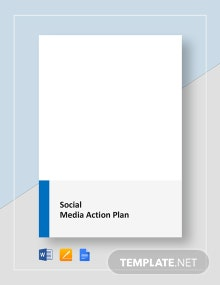 Social Media Action Plan Template