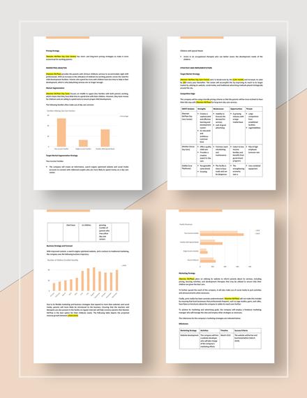 Startup Marketing Plan Download