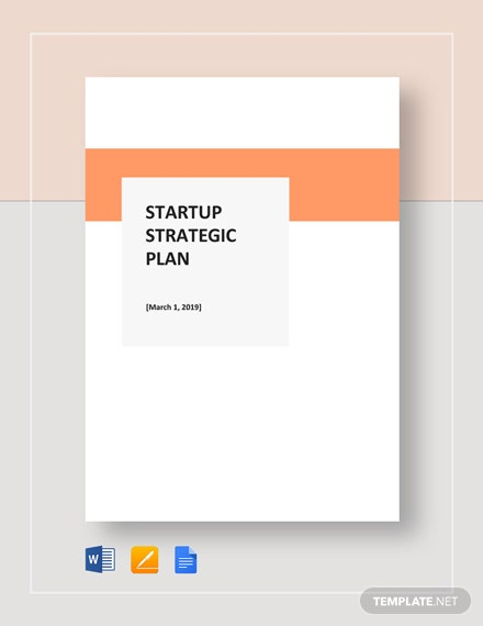 Startup Strategic Plan Template