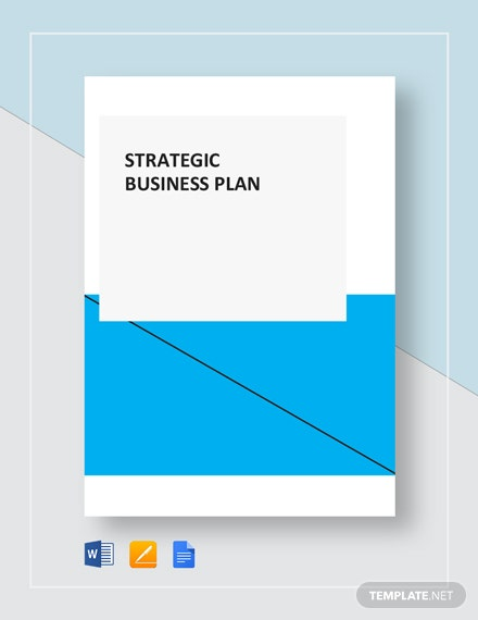 Simple Strategic Business Plan Template