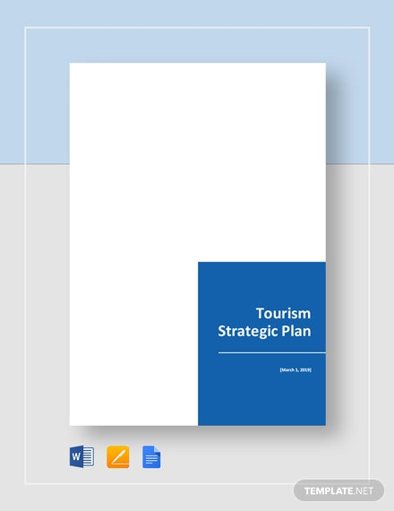 Tourism Strategic Plan Template