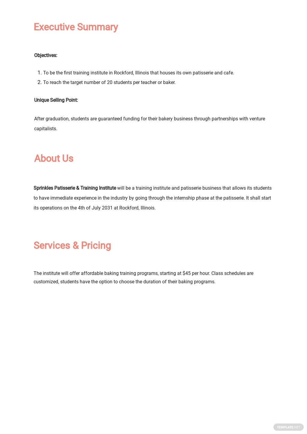 Training Institute or Provider Business Plan Template 1.jpe