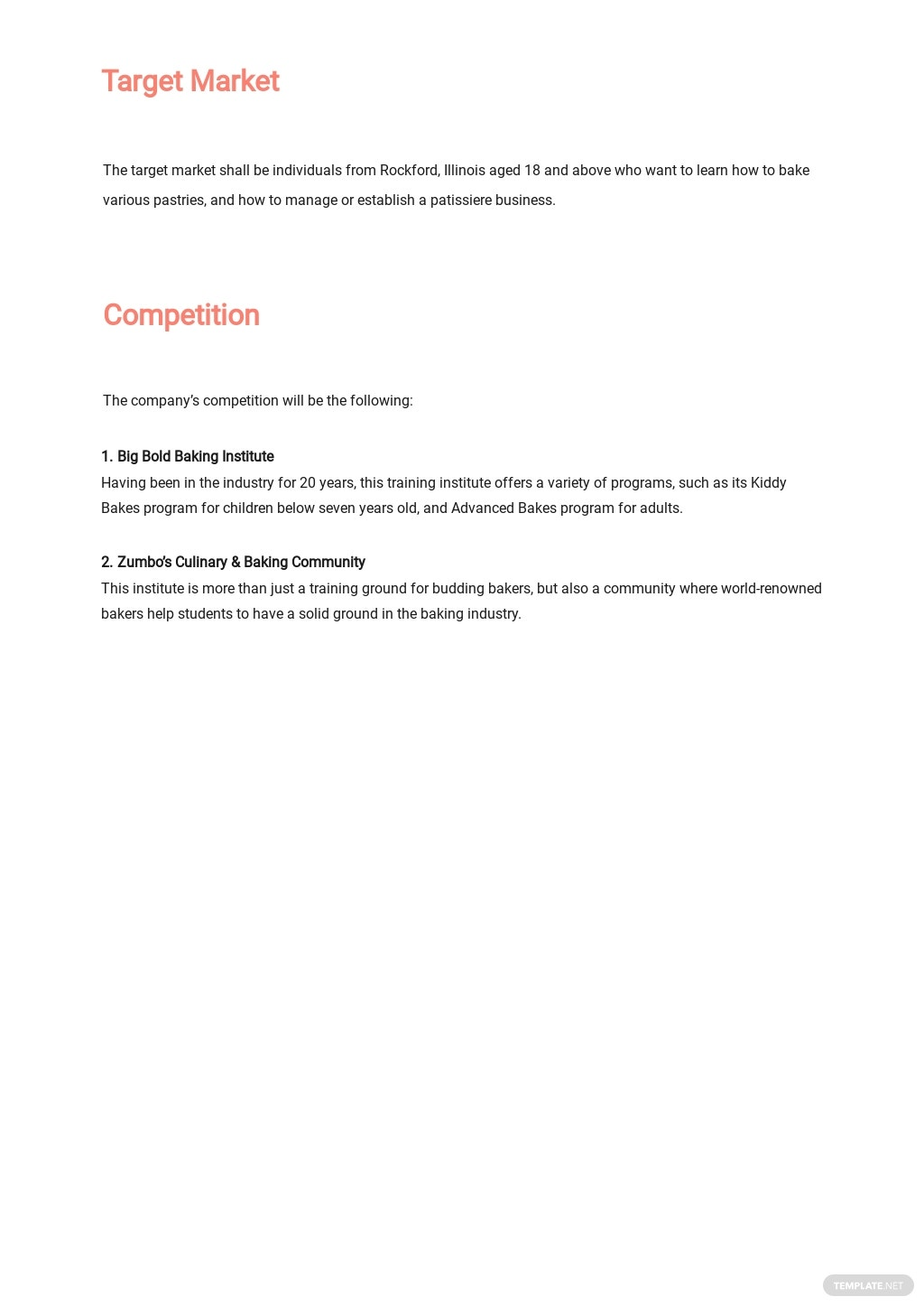 Training Institute or Provider Business Plan Template 2.jpe