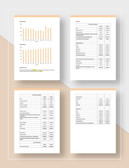 Warehouse business plan template word (doc)   google docs.