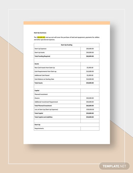 Warehouse Business Plan Template: Download 0+ Plans in Microsoft