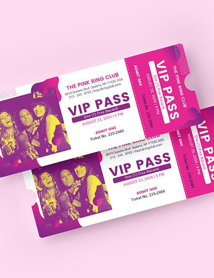 VIP Invitation Ticket Download
