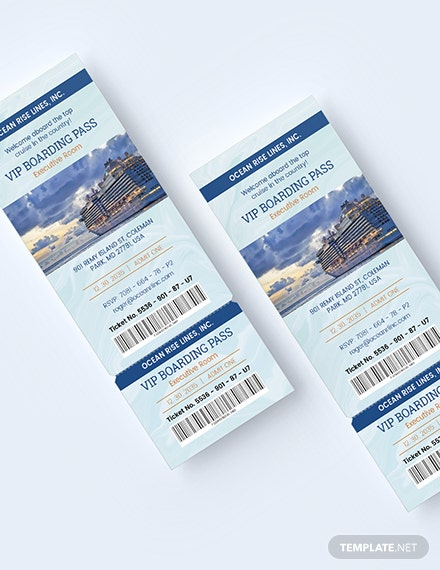 Sample VVIP Pass Ticket Invitation