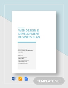Web Design & Development Business Plan Template