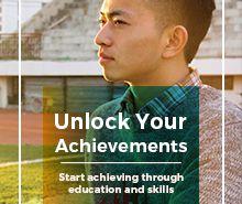 Junior High School Brochure Template