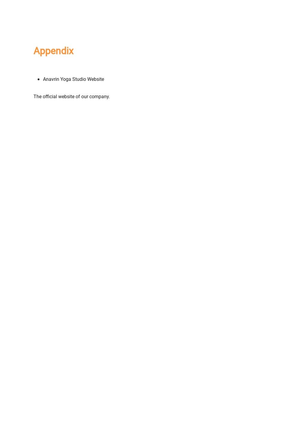 Yoga Studio Business Plan Template 9.jpe