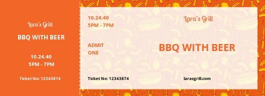 BBQ Food Ticket Template.jpe