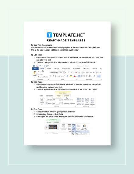 Medical Prescription Format Instructions