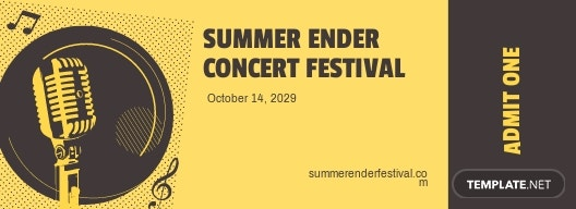 Concert Festival Ticket Template.jpe