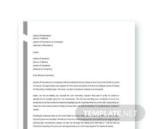 Free Sponsorship Request Letter Template