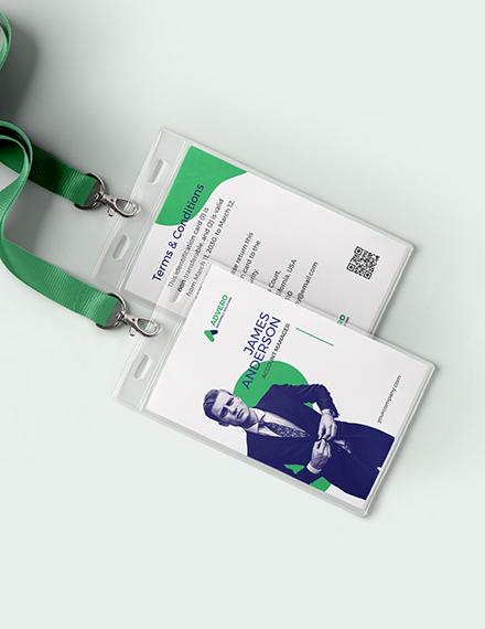 Insurance Investigator Id Card Template Word Psd