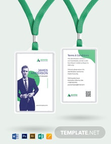 Insurance Investigator ID Card Template