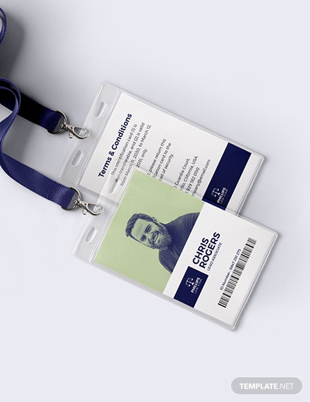 Legal Investigation ID Card Download