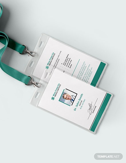 Medical Staff ID Card Download